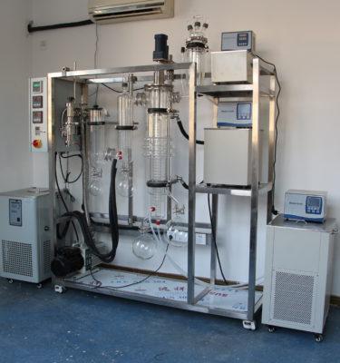 NeoWP372 molecular distillation wiped film